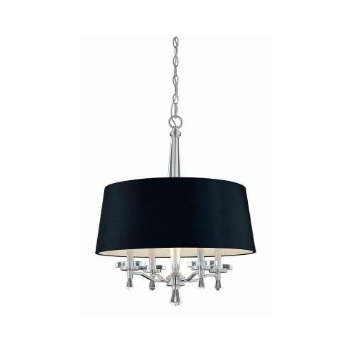 Hampton Bay Elora Pendant Light Chrome