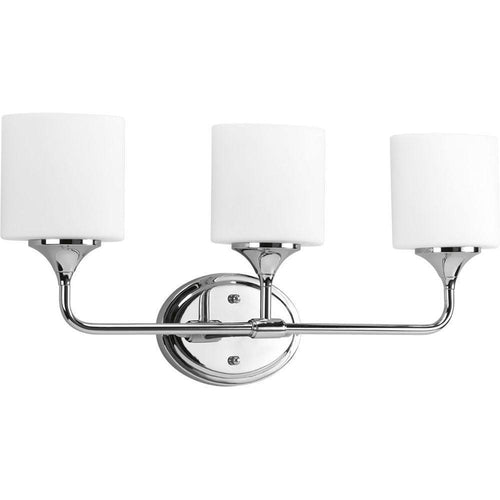 Progress Lighting Lynzie 3-Light Bath Vanity Chrome