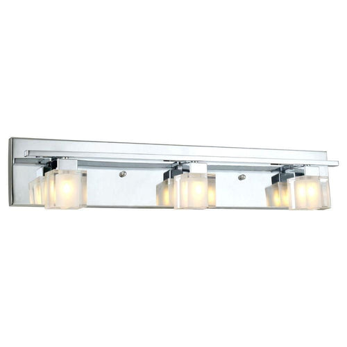 Eglo Tanga 3-Light Vanity Fixture Chrome-OB