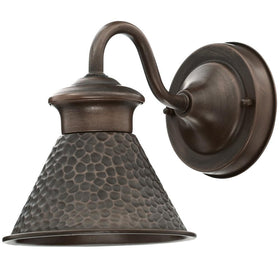 Home Decorators Essen Small Exterior Wall Lantern Antique Copper-OB