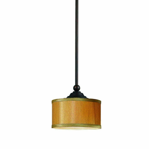 Home Decorators Denholm 1-Light Pendant Fixture Bronze-OB