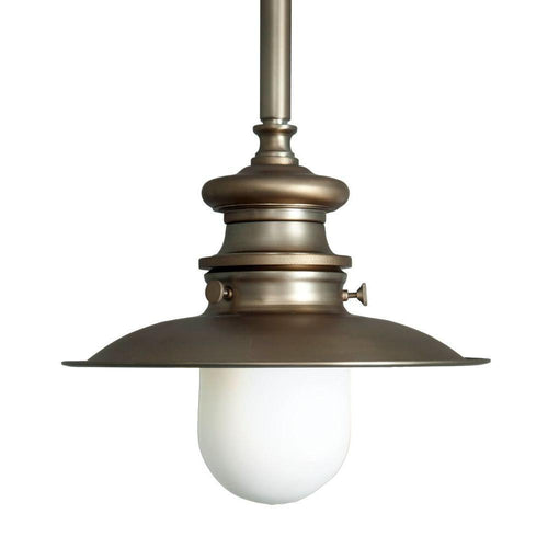 Home Decorators Lantern Pendant Light Brushed Bronze-OB