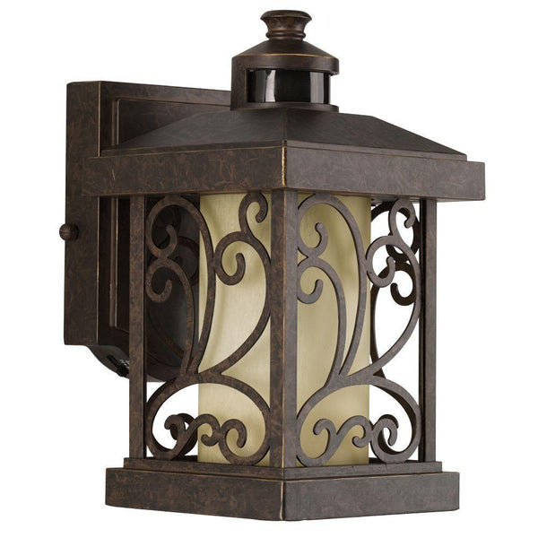 Progress Lighting Cypress Motion Activated Light Forged Bronze-OB