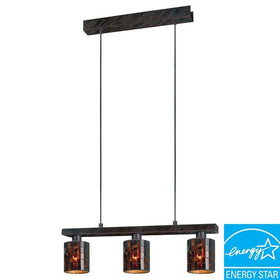 Eglo USA Troya 3-Light Ceiling Island Fixture
