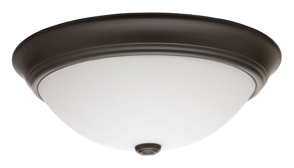 Lithonia Lighting Decor Round Flushmount Ceiling Light Antique Bronze-OB