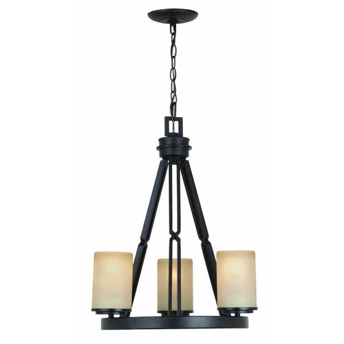 Hampton Bay Alta Loma Chandelier Bronze-OB
