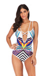 SLV CRAY-AWESOME PRINT ONE PIECES - BelleChloe