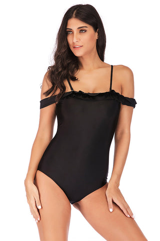 Sexy Large Size One Piece Swimsuit