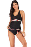 slv push up striped swimwear - BelleChloe