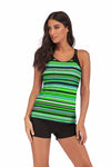 SLV UGLY STRIPED BATHING SUIT - BelleChloe