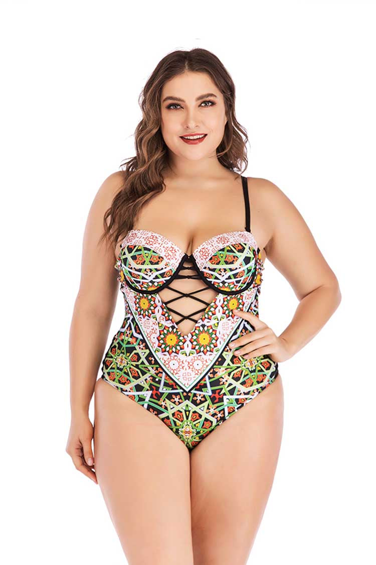 SLV BOHEMIA ONE-PIECE PLUS SIZE - BelleChloe