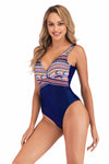 SLV  SUBTLE MESH CUTOUTS SWIMSUIT - BelleChloe