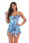 BUTTERFLY BLUE TANKINI SET