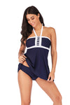 Plus Size Belted Swimwear - BelleChloe