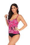 SLV Tropical Tankini Set