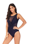 SLV RUCHED V-BACK SWIMSUIT - BelleChloe