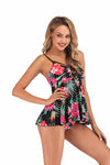 SLV  DARK SUMMER LACE UP SWIMSUIT