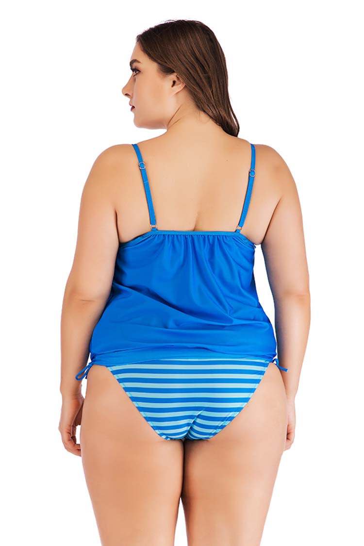 SLV BUTTERFLY BLUE TANKINI SET - BelleChloe