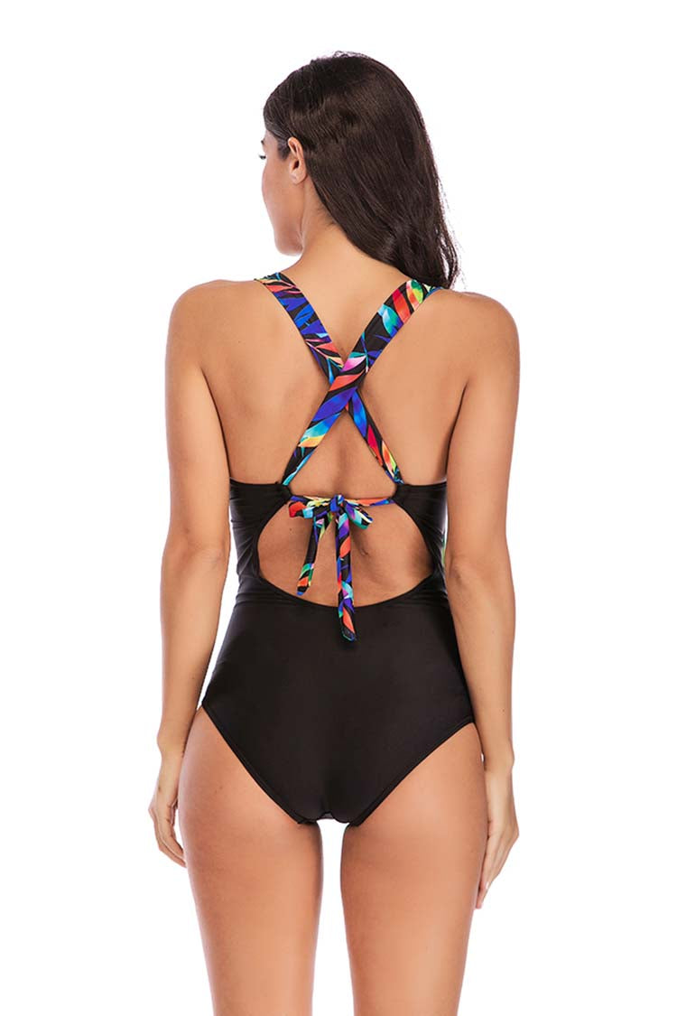 SLV BACK TIED ONE PIECES - BelleChloe