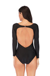 SLV LONG SLEEVE SWIMSUIT TANKINI - BelleChloe
