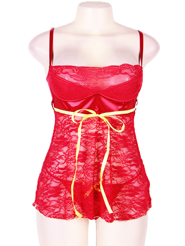 Babydoll Lace Sleepwear - BelleChloe