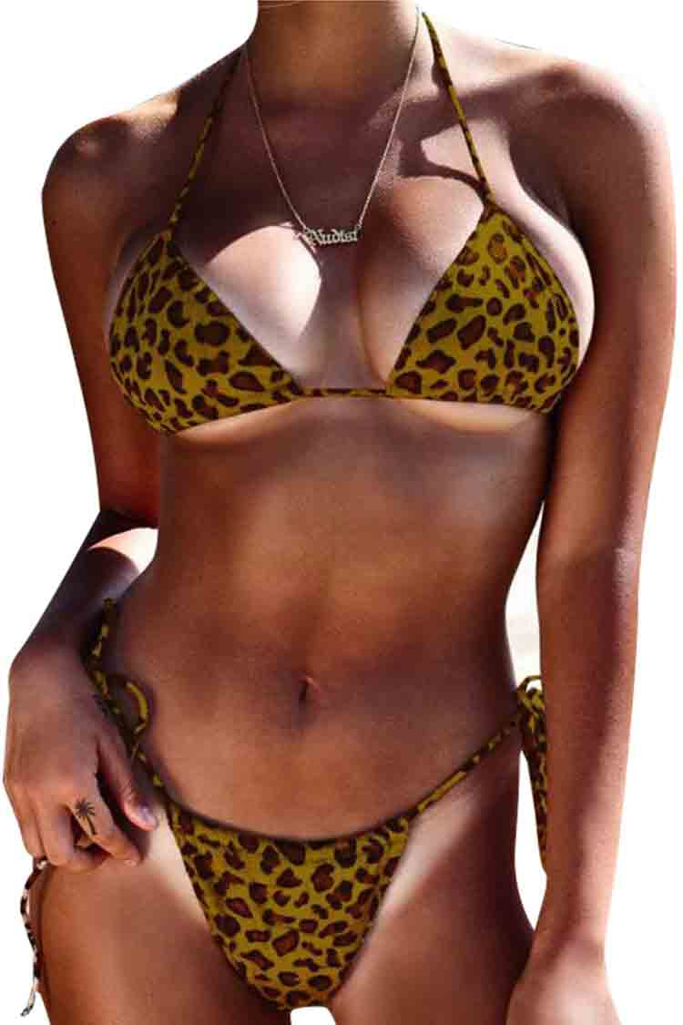 SLV CHEETAH BIKINIS - BelleChloe