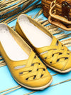 Color Matching Temperament Flat Sandals