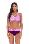 SLV STRAPPY PUSH-UP BIKINI SET