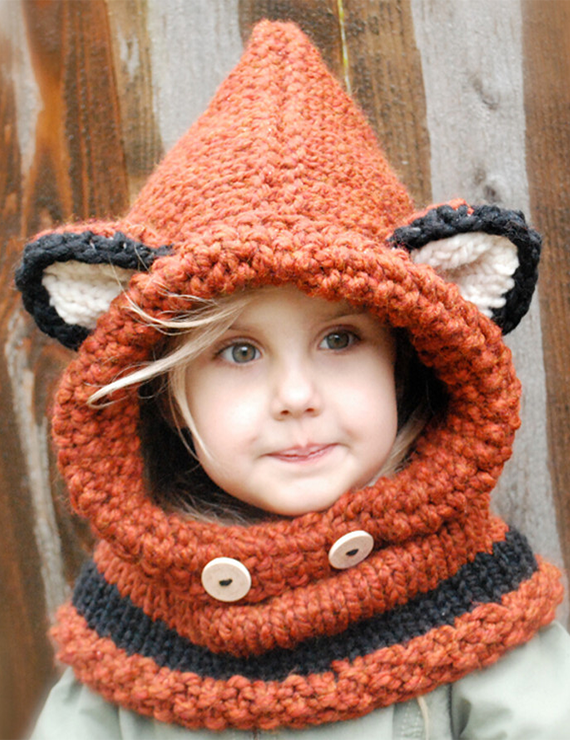Autumn And Winter Earmuffs Warm Cute Fox Knitted Hat - BelleChloe