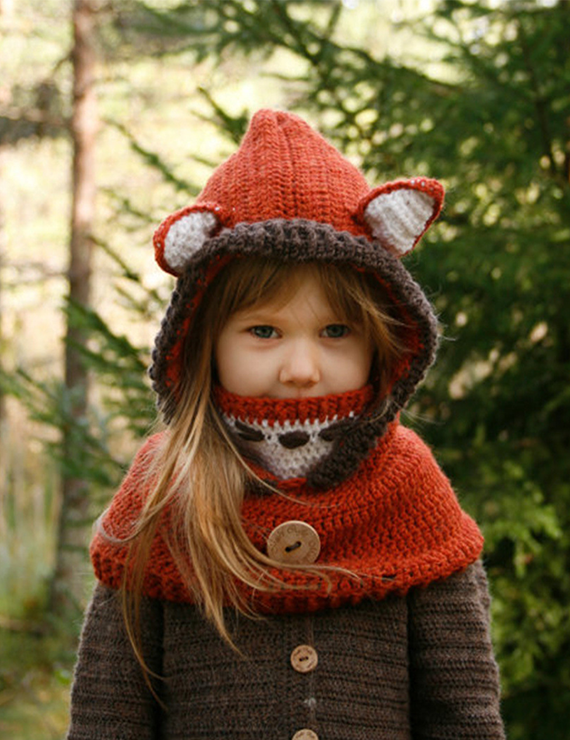 Autumn And Winter New Wool Hat Shawl Warm Earmuffs Hat Cloak Mask - BelleChloe