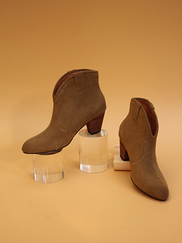 【HIGT QUALITY】Small Size Womens Fashionable Ankle Booties