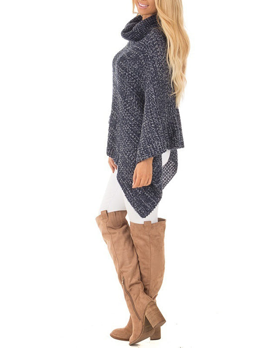 Loose Warm Batming Sleeves Sweater-Sweaters-BelleChloe