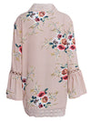 Loose Lace Hollow Floral Open Front Cape Casual Cardigan-Cardigans-BelleChloe