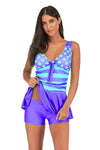 SLV  SPOT & STRIPE SWIMWEAR - BelleChloe