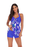 SLV  DAHLIA PRINT SWIMSUIT - BelleChloe