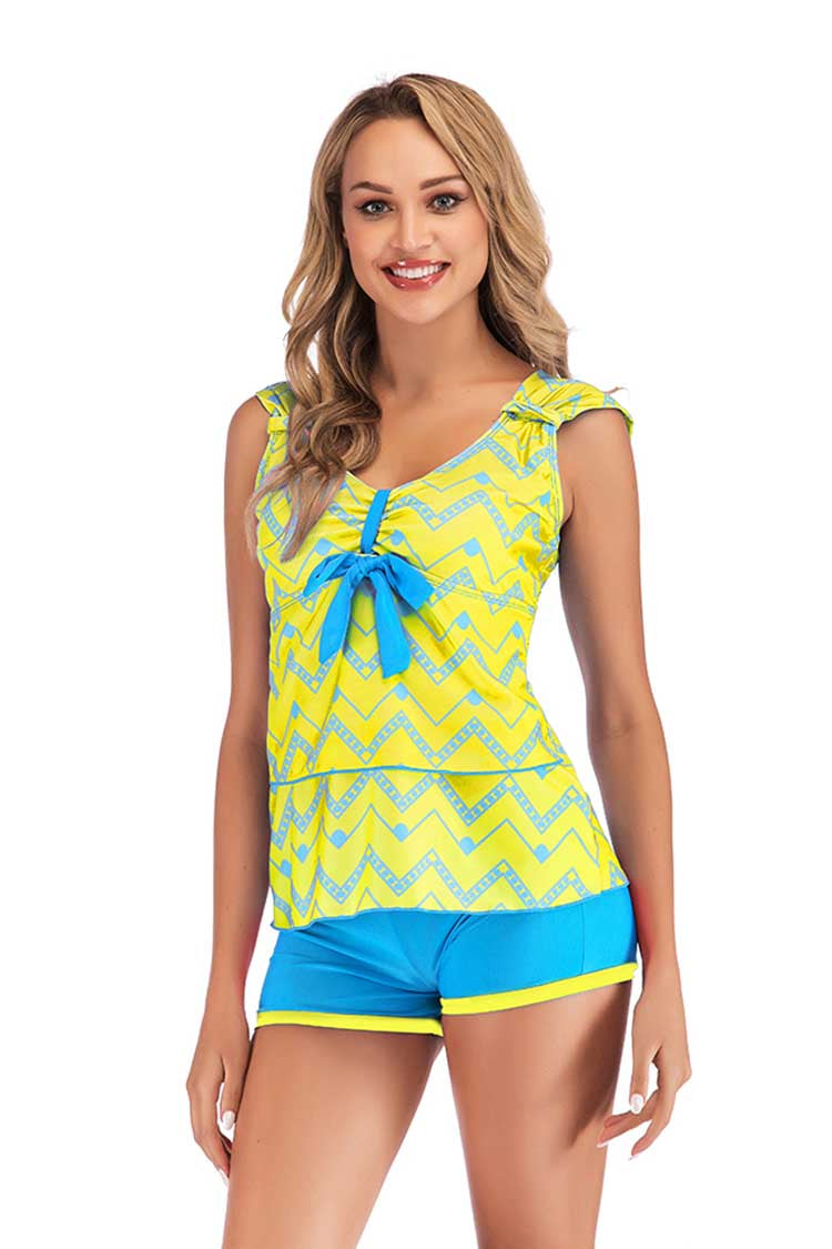 SLV  SWEET BOW BATHING SUIT - BelleChloe