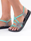Women Outdoor Sandals Flats Flip Flops  Summer