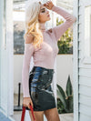 Turtleneck Knitting Winter Sweater-Sweaters-BelleChloe