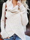 Fluffy Fleece Thick Hooded Sweater Cardigan Coat