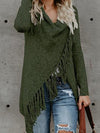 Tassel Sweater Large Size Coat Sweater-Cardigans-BelleChloe