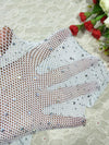 Sexy Women Crystal Diamond Shine Fishnet Stockings - BelleChloe