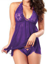 Lingerie Sleepwear Nightwear Babydoll G-string Backless
