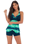 SLV  TIE DYED IN BRIGHT COLOR TANKINIS