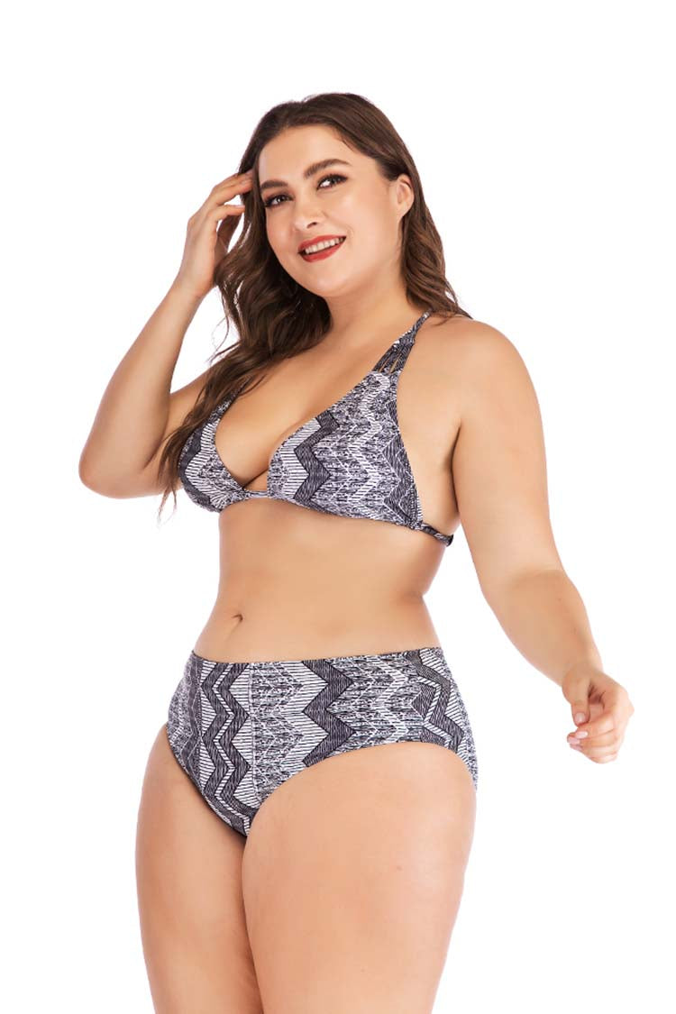 SLV PLUS SIZE MODEST CUT BIKINIS L-5XL - BelleChloe