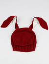 Children's Rabbit Ears Wool Knit Hat - BelleChloe