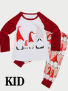 Funny Snowman Print Parent-Child Split Home Service Suit - BelleChloe