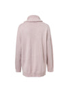 Turtleneck Loose  Split Casual Knitted Pullover Long Sleeve Sweaters