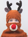 Animal Bear Ears Yarn Crochet Collar Hooded