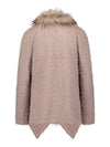 Casual Woolen Collar Cardigan - BelleChloe