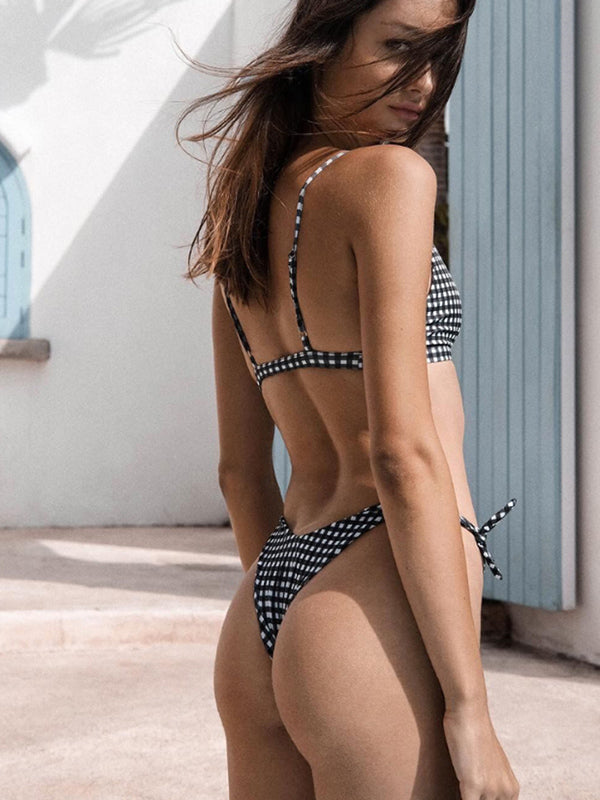 Sexy Hollow Out Design Swimsuit Set